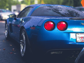Man Has Been Social Distancing His Corvette In Parking Lot For Years