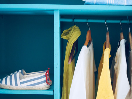 Closet Wardrobe - it's not all about Organizing!