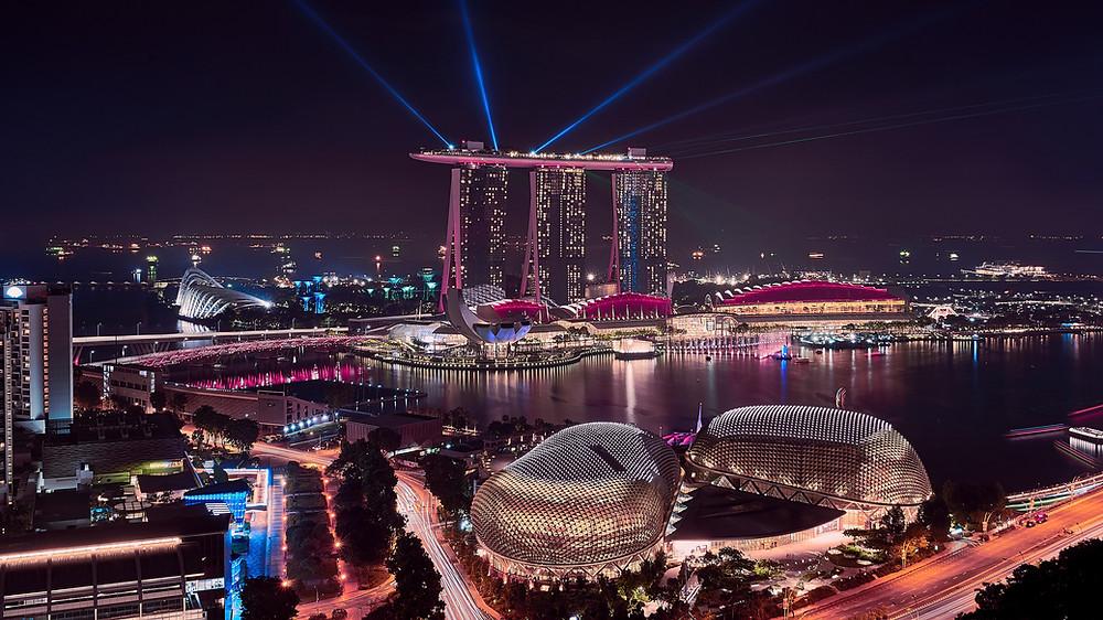 המלצות לירח דבש, יעדים לירח דבש, יעדים חלומיים, סינגפור