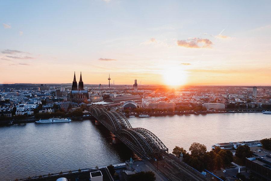 Köln Sonnenuntergang One Veedel