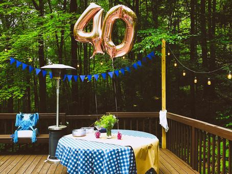 Sari's Magical 40th Birthday Docu-Montage