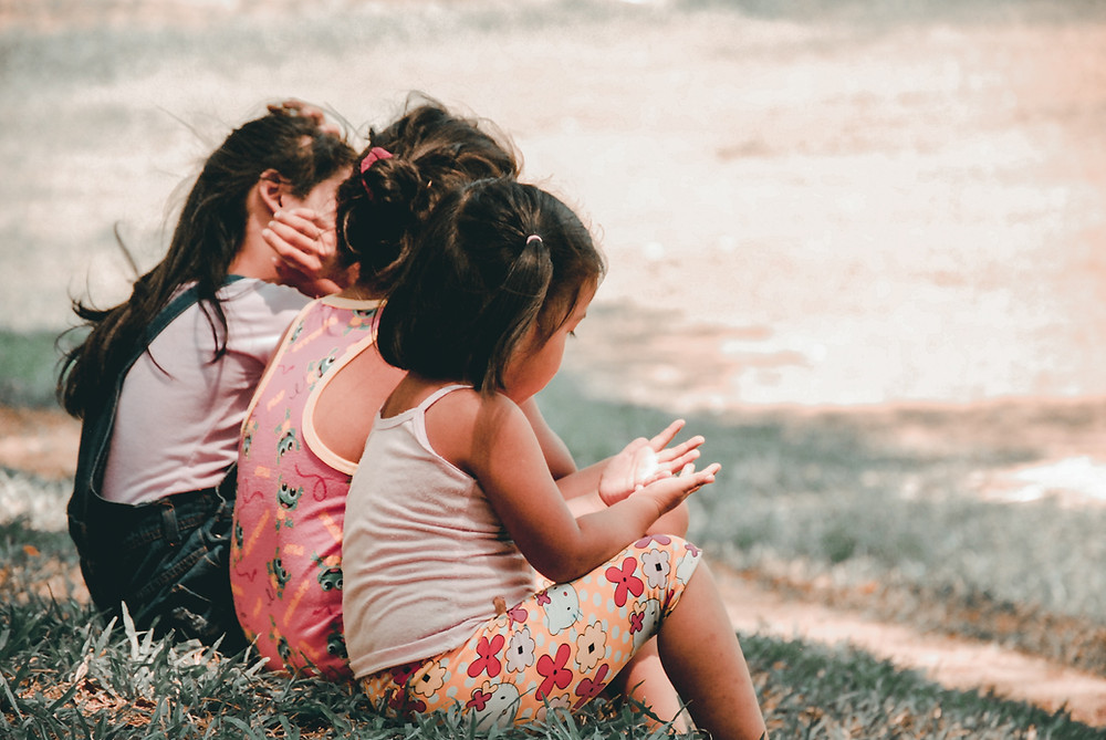 Three girls together