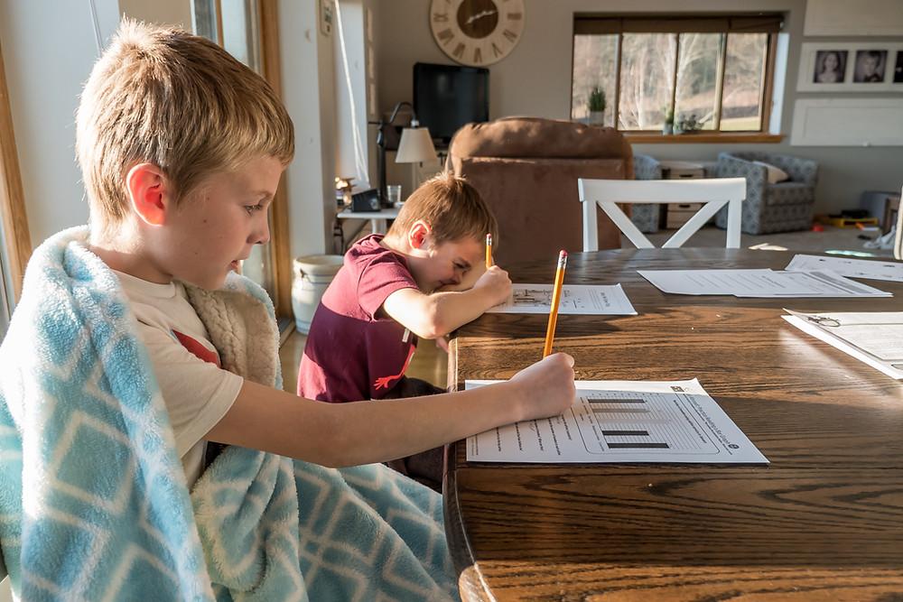 Homeschooling at Mustard Seed Sentinel