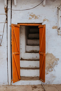 Image by Ibrahim Rifath. The picture shows open doors
