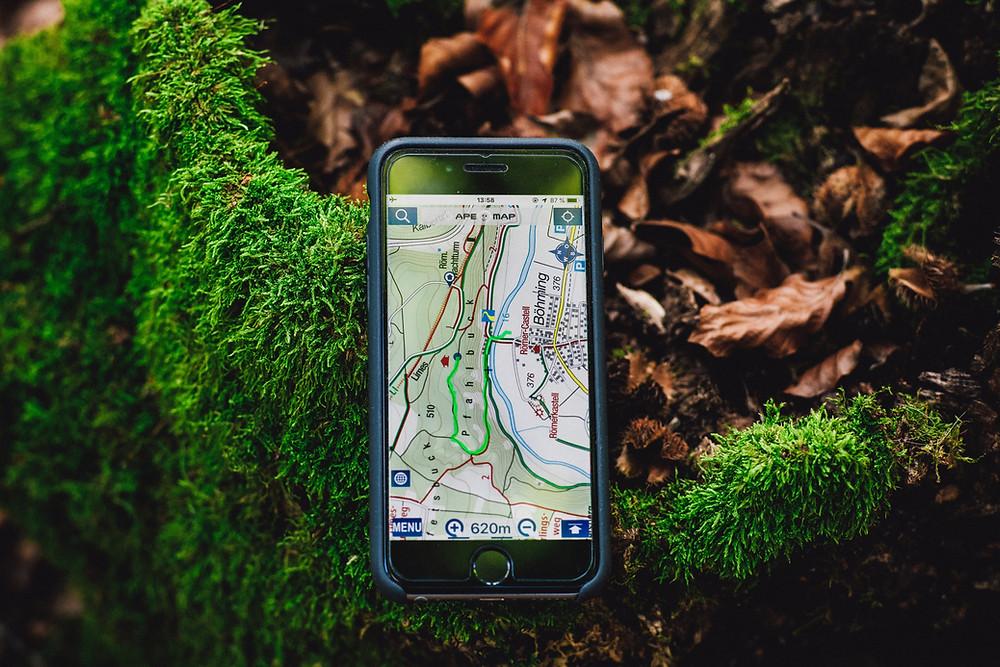 الجغرافيا والتفاعل المكاني GPS