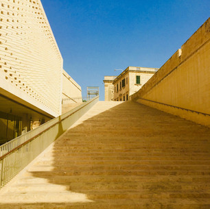 Valletta entrance redesign by Renzo Piano