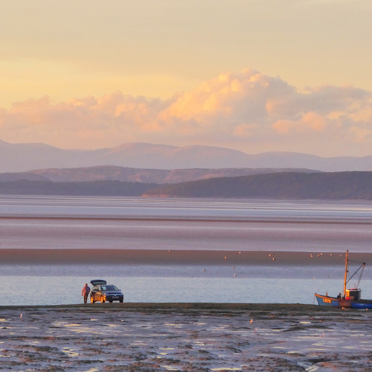 Walking and Talking our local beach (Morecambe Bay)
