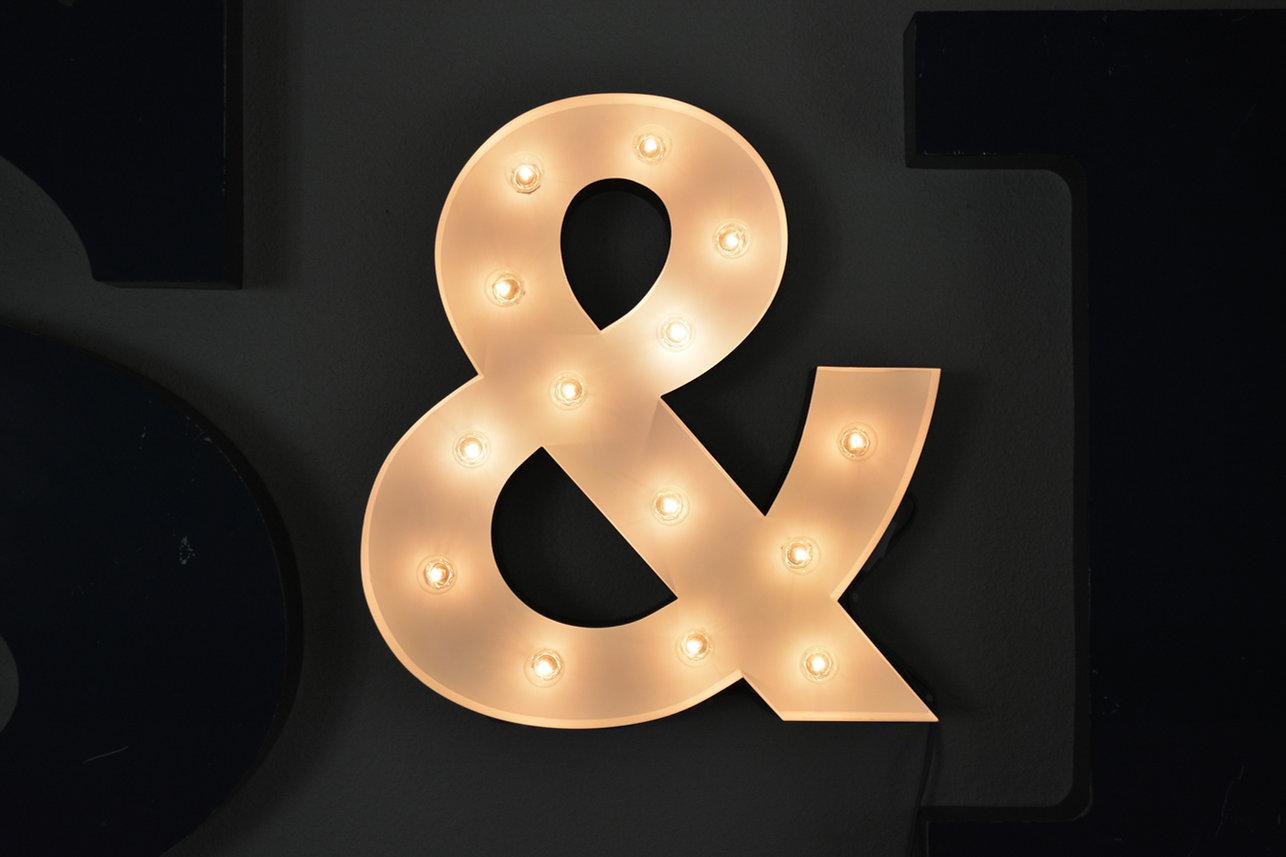 giant light up & symbol