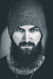 Beard and mustache transplant turkey