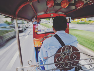 The only way to travel in Thailand