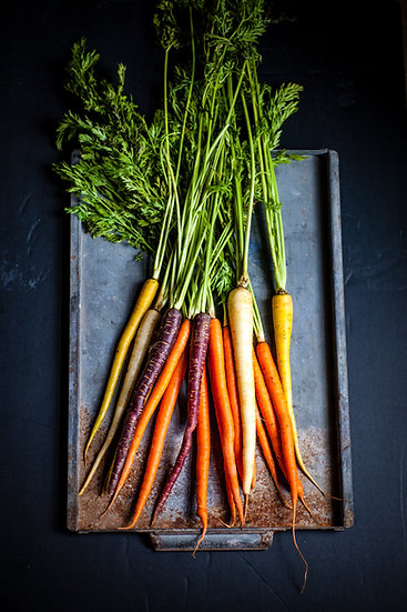 Carrot Mixed Colour Large Bunch