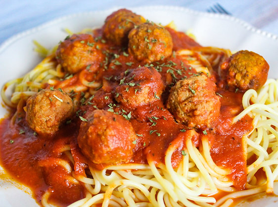 Ready to Cook Spagetti & Meatball Kit
