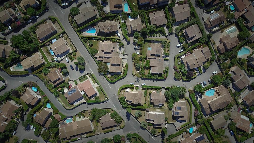 drone pour immobilier