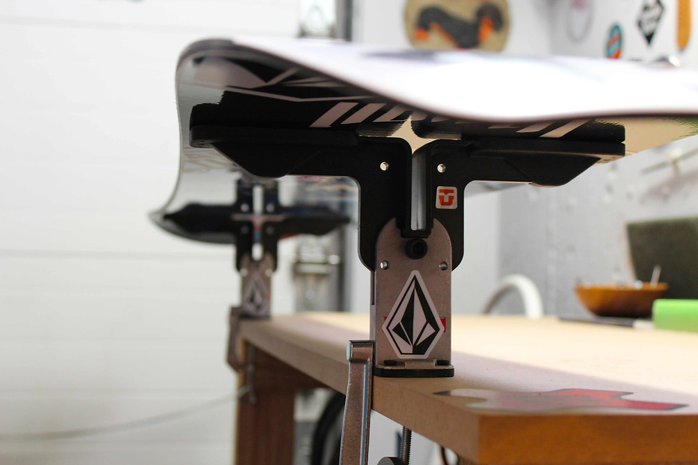 waxing winter skis for winter park fun
