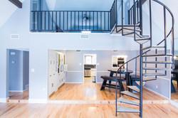 Treppe für Wohnung