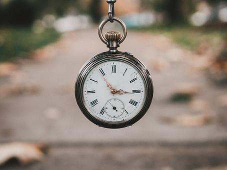 """""""Eu não tenho tempo"""""""