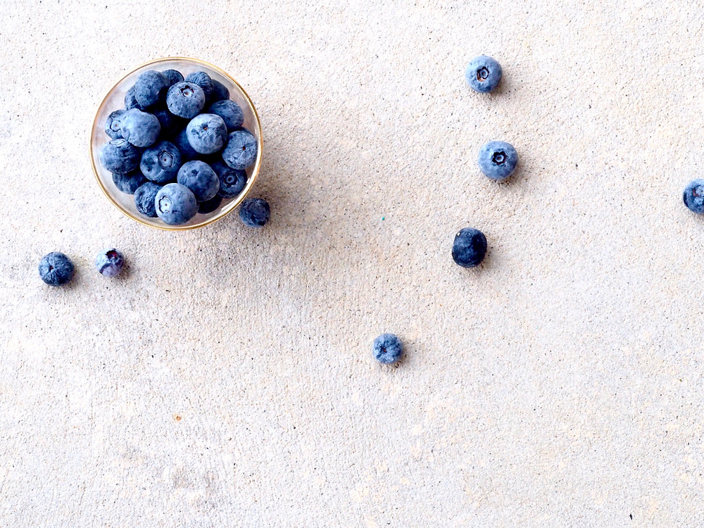 blueberries, anxiety relief, nutrition
