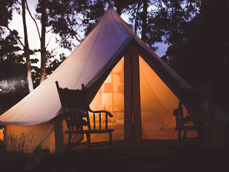 Stretch your tent
