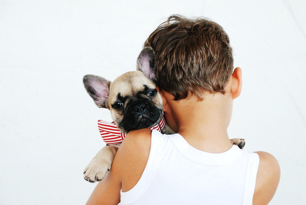 El amor de un perro hacia su amo es tan fuerte como el sentimiento humano.