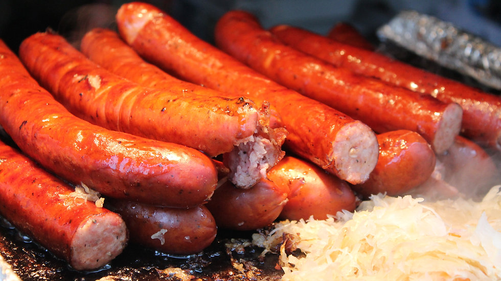 Grilled Kielbasa Sausage