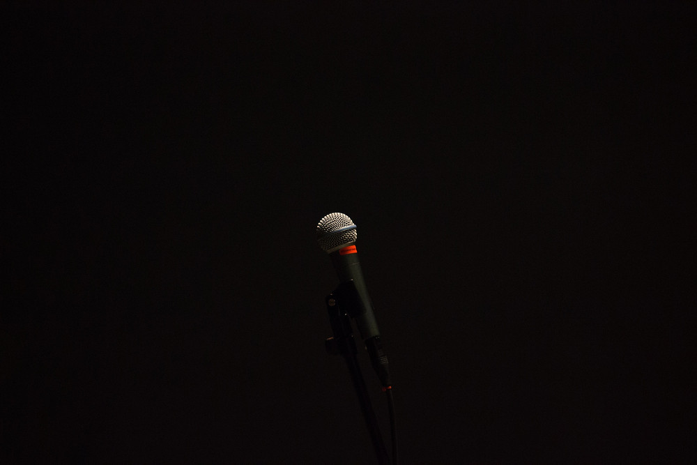 Photo Of An Isolated Microphone
