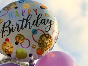 Birthdays, the COVID Way