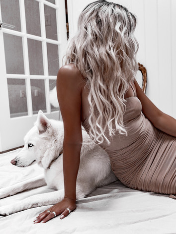 Platinum, Silver Hair Extensions