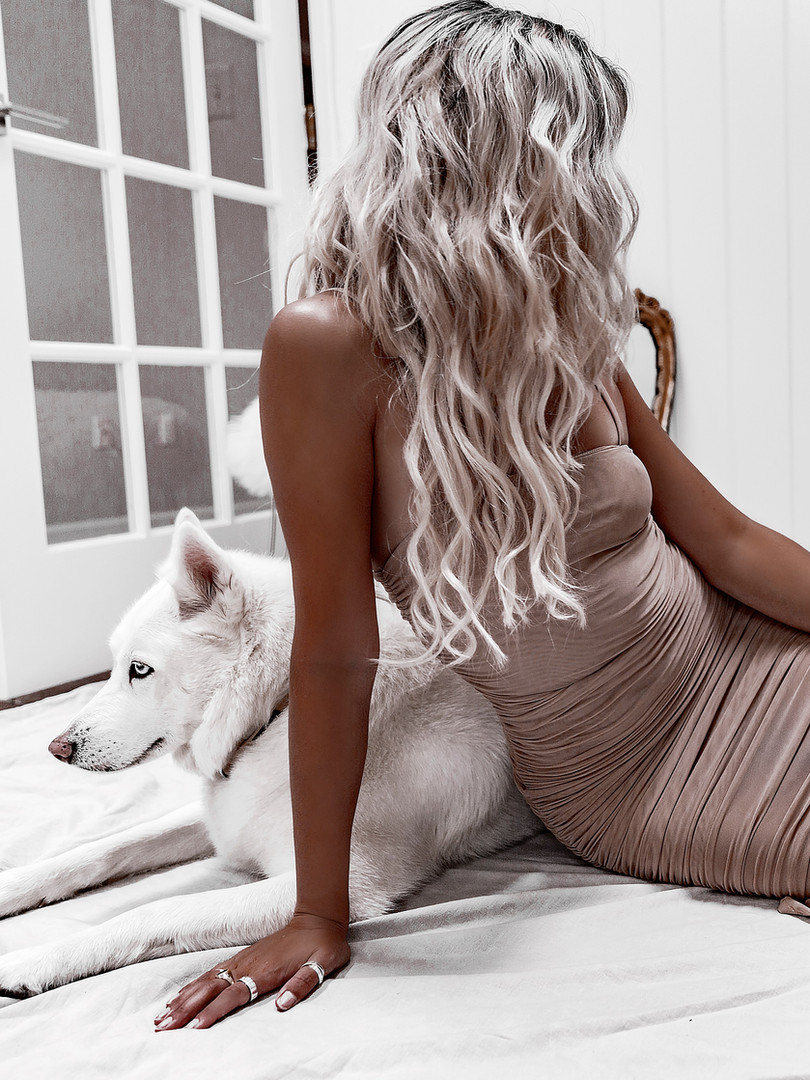 Platinum, Silver Hair Extensions