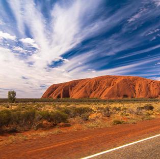 Experience sunrise and sunset at Uluru, Australia