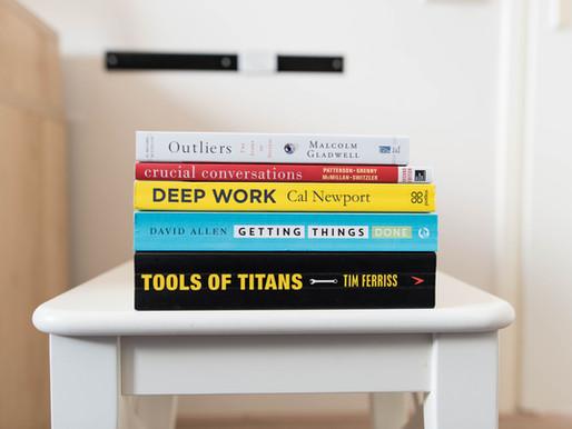 The 7 Best Self-Development Books That I've Read so far