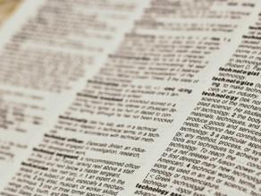 Resolution 2020: To proactively streamline utilisation of erudite vocabulary