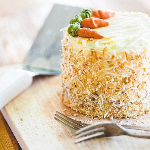 20th Feb: Carrot Cake (1 slice)
