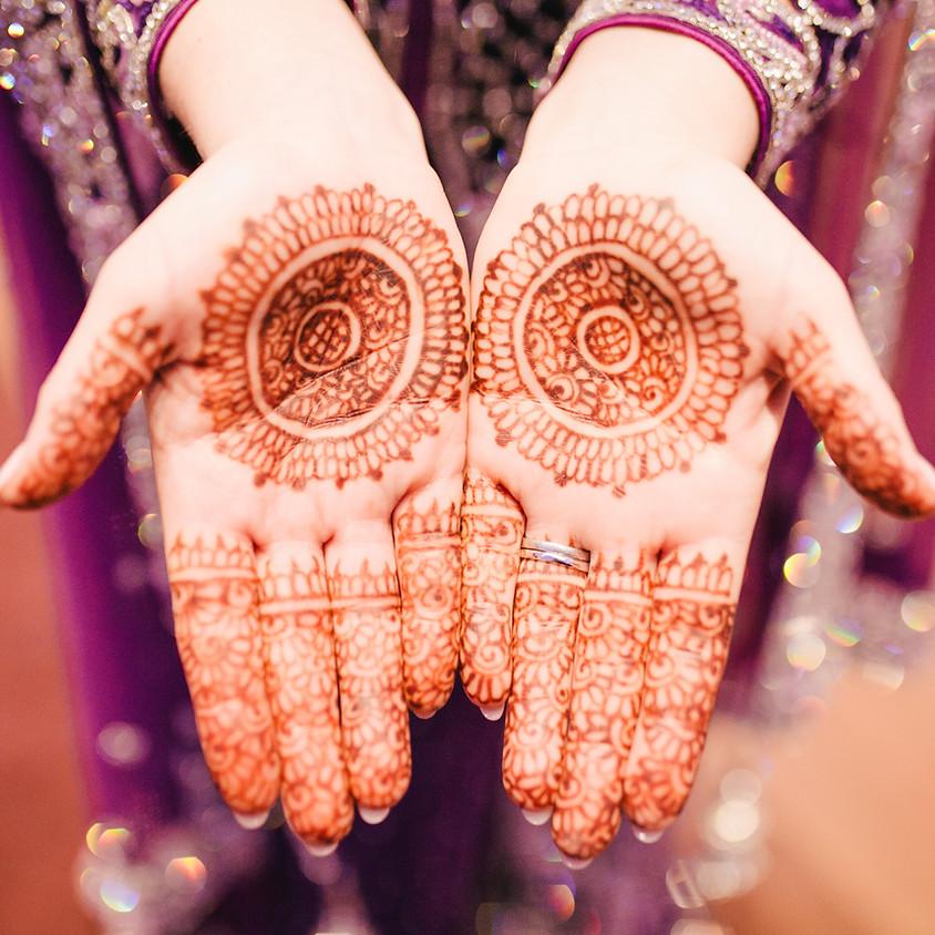 Henna Art Workshop with Keishma