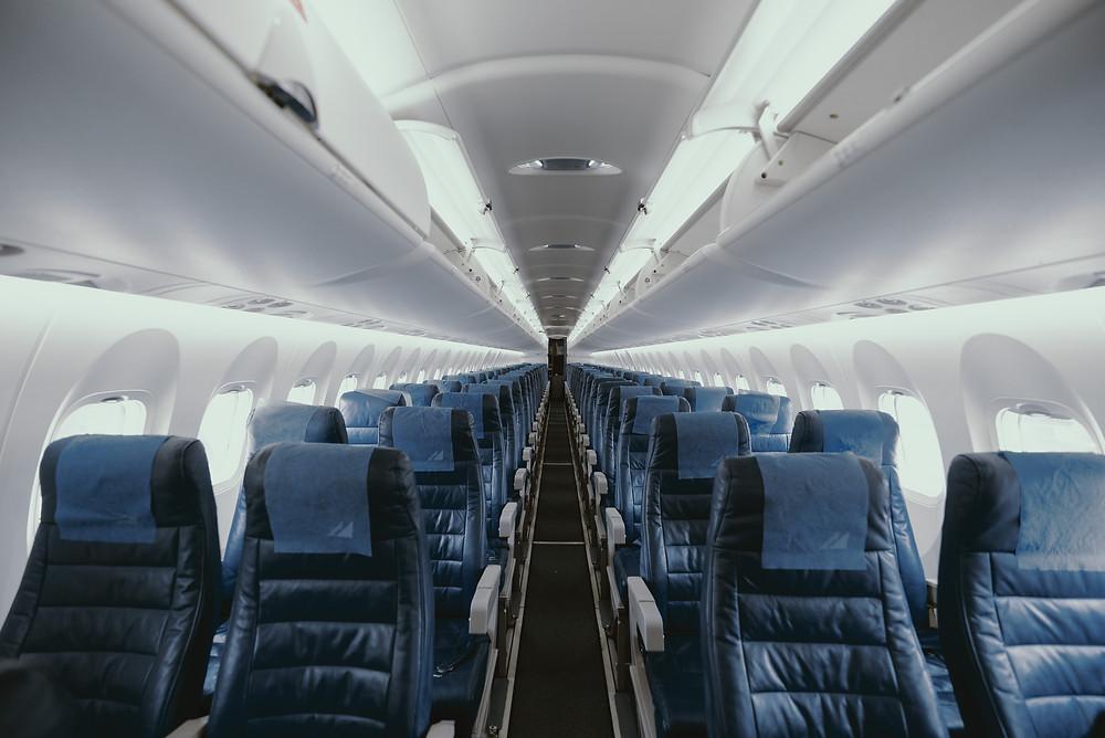 ที่นั่งว่างบนเครื่องบน