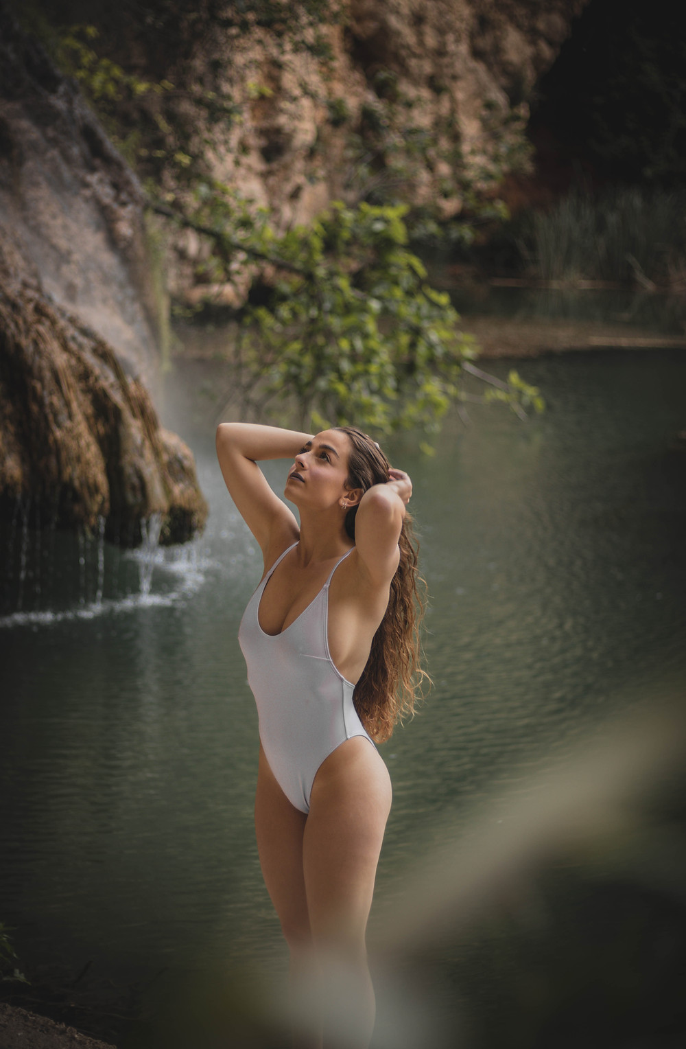 CLOTHING MANUFACTURERS UK WHITE SWIMSUIT