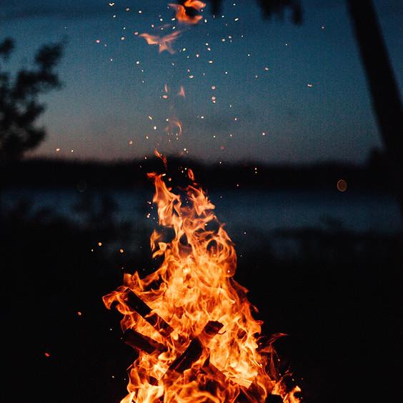 Taller de Vida Consciente - El Padre y el Fuego, trabajando con el poder del fuego para sanar.