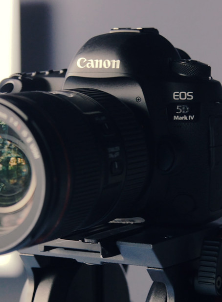 Equipment for starting photographers and videographers