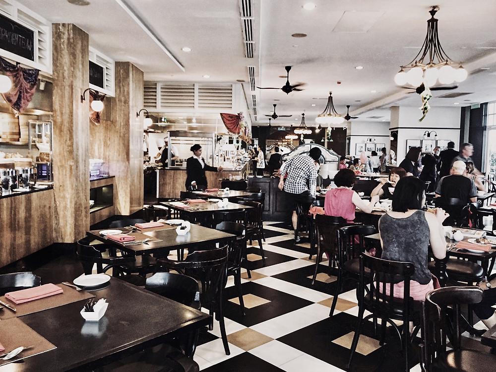 Durable Restaurant Floor
