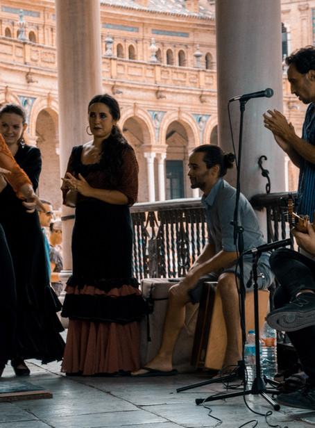 Flamenco screams what my soul silences