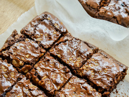 Black bean chocolate brownies