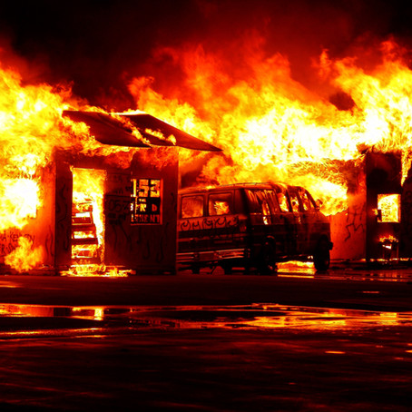 Crônica: Proteja seus sonhos do fogo