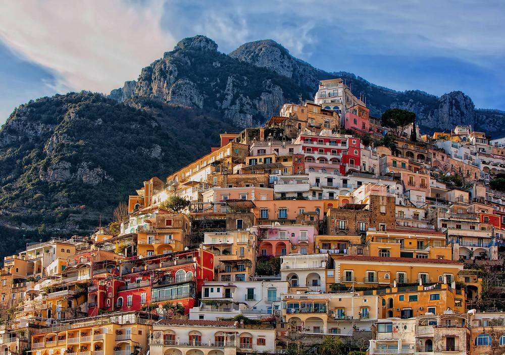 Milo's Amalfi Coast: A charming coastline abducting you at first sight.