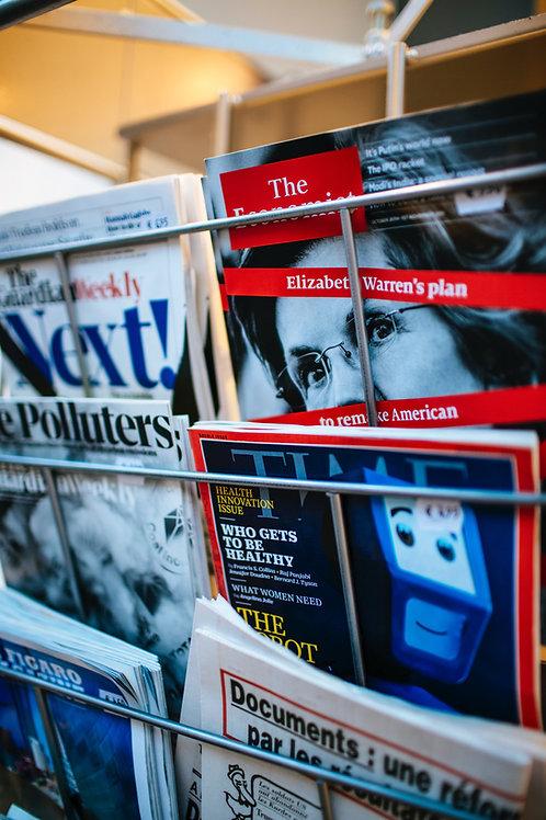Fotohæfte i magasin format