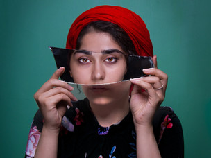 I pity the mirror by MK Abhilash