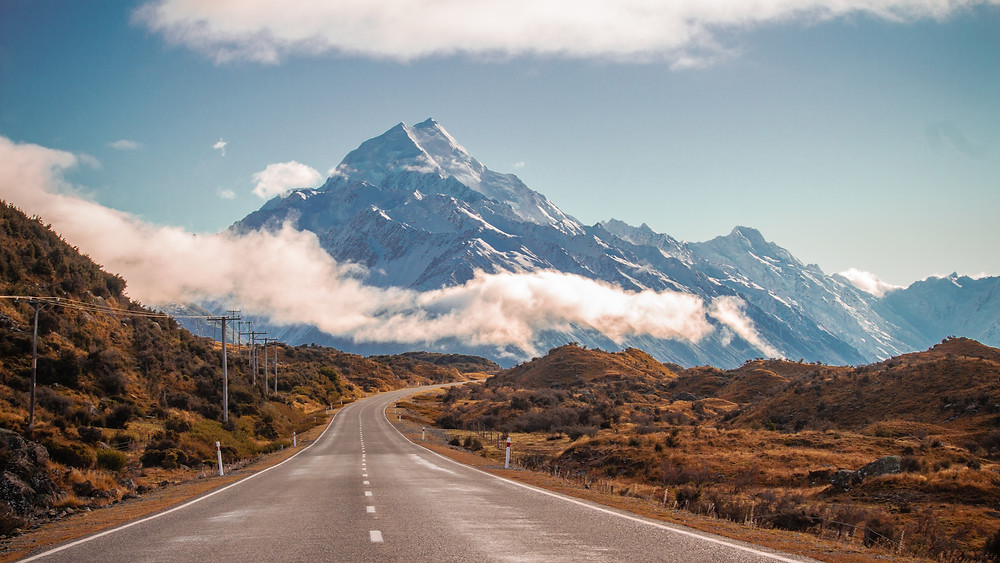 South Island New Zealand best road trip destination