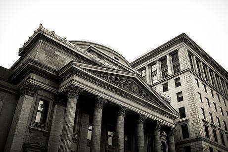 Old Bank Building With Pillars | KIU Global