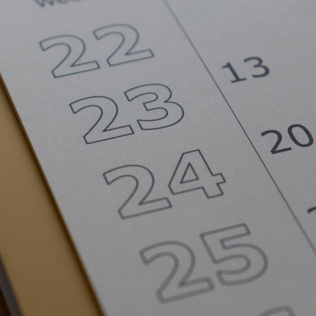 2019-20 Club Calendar