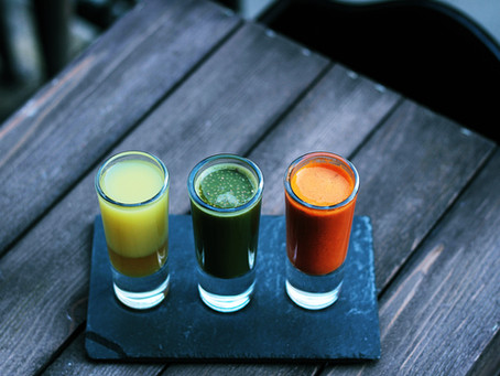 Create your own healthy shots