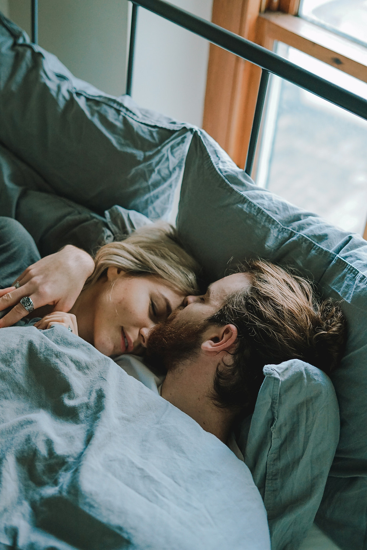 couple sleeping sex