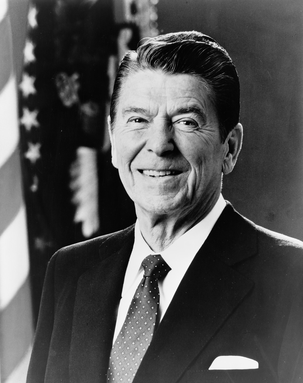 President Reagan. The first climate skeptical president